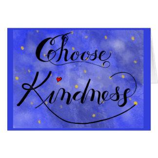 Choose Kindnesscard Card