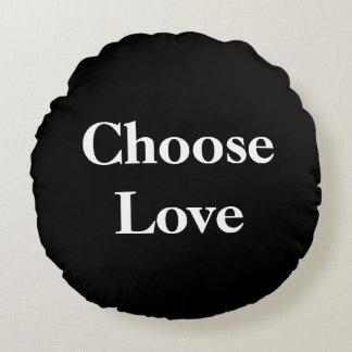Choose Love Round Cushion