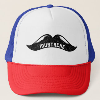 Choose Mustache or Moustache Trucker Hat