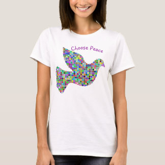 Choose Peace with Dove Graphic T-Shirt