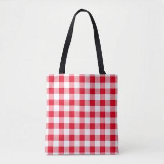 """""""Choose The Colour"""" Gingham Pattern Shoulder Bag"""