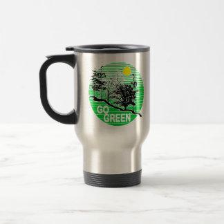 Choose to reuse stainless steel travel mug