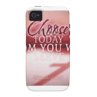 Choose Today Whom You Will Serve Vibe iPhone 4 Cover