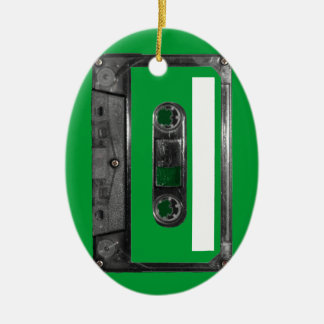 Choose Your Color Cassette Ceramic Oval Decoration