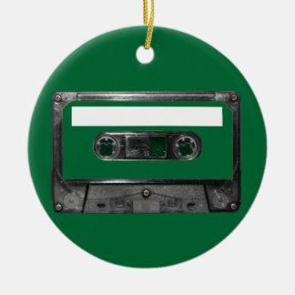Choose Your Color Cassette Round Ceramic Decoration