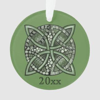 Choose Your Color Celtic Knot Decorative Pattern