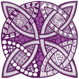 Choose Your Color Celtic Knot Decorative Pattern Photo Sculpture Magnet