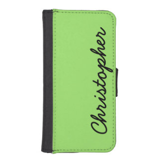 CHOOSE YOUR COLOR iPhone 5/5s Wallet Case Custom