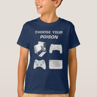 Choose Your Game Gaming White Gear For Pro Gamer T-Shirt