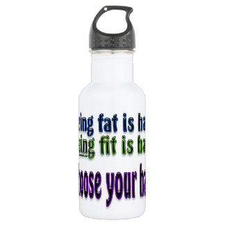Choose Your Hard 532 Ml Water Bottle