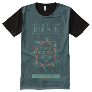 Choose Your Minds Wisely - Legilimens Poster All-Over Print T-Shirt