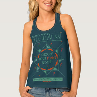 Choose Your Minds Wisely - Legilimens Poster Tank Top