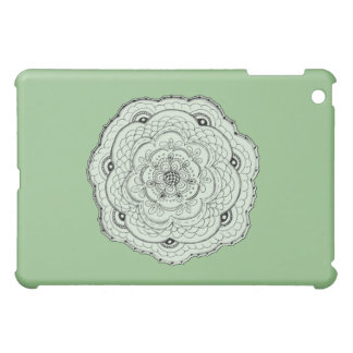 Choose Your Own Color Lace Crochet Flower Cover For The iPad Mini