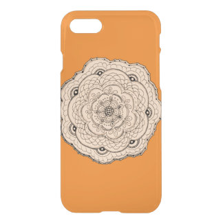 Choose Your Own Color Lace Crochet Flower iPhone 7 Case