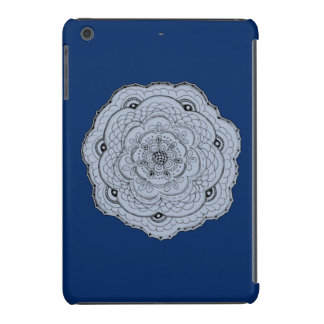 Choose Your Own Color Lacy Crochet Look Flower iPad Mini Cover