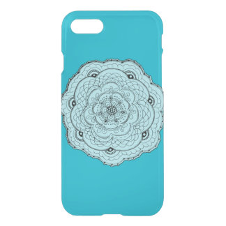 Choose Your Own Color Lacy Crochet Look Flower iPhone 7 Case