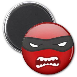 Choose Your own Ninja Smilie Fridge Magnet