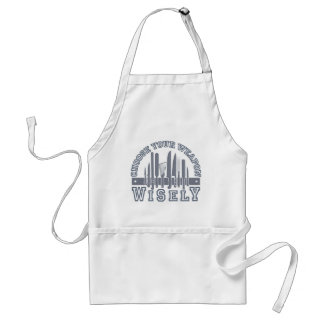 Choose Your Weapon apron - choose style & color