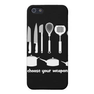 choose your weapon iPhone 5/5S cover