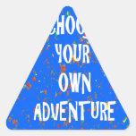 Choose yr own adventure - Wisdom Script Typography Stickers