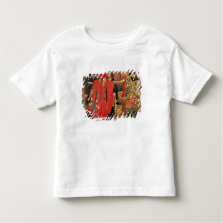 Choosing the Red and White Roses in Temple Toddler T-Shirt