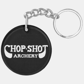 Chop Shot Archery Double Sided Keychain
