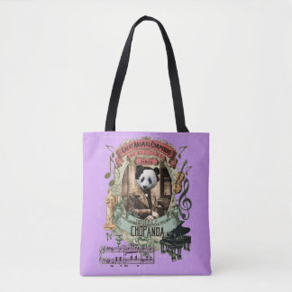 Chopanda Funny Pand Great Animal Composer Chopin Tote Bag