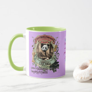 Chopanda Funny Panda Great Animal Composer Chopin Mug