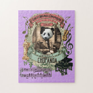 Chopanda Great Animal Composer Chopin Parody Jigsaw Puzzle