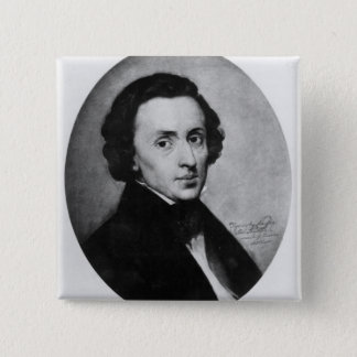Chopin, 1858 15 cm square badge