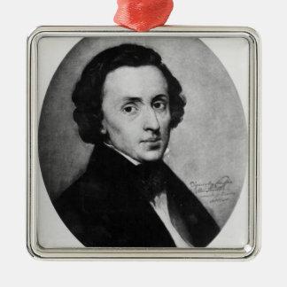 Chopin, 1858 christmas ornament