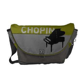 Chopin Piano Olive Messenger Bag