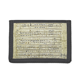 Chopin - Polonaise Trifold Wallets