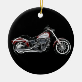 Chopper Hog Heavyweight Motorcycle Christmas Ornament