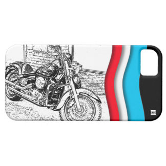 Chopper Motocycle iPhone 5 Case-Mate Case