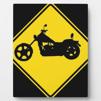 """""""Chopper Motorcycle"""" Display Plaque"""