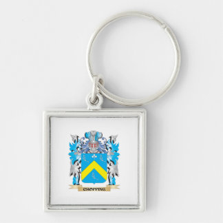 Chopping Coat of Arms - Family Crest Key Chain