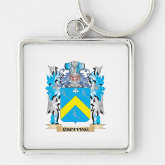 Chopping Coat of Arms - Family Crest Keychains