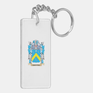 Chopping Coat of Arms - Family Crest Acrylic Key Chains