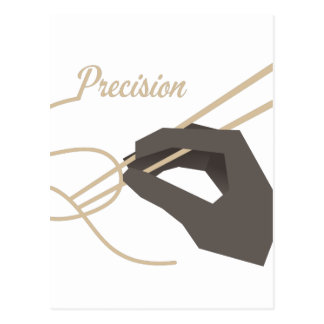 Chopstick Precision Postcard