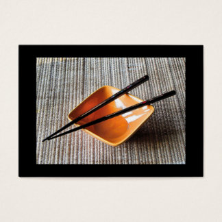 Chopsticks ATC Business Card