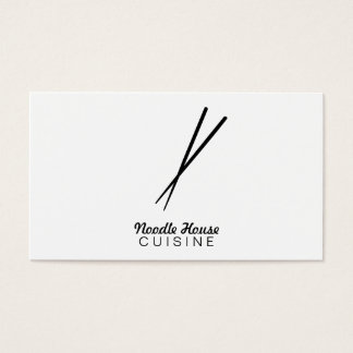 Chopsticks Variation Business Card