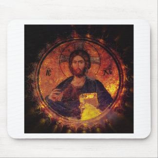 Chora Christ Mouse Pad