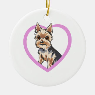 CHORKIE CHRISTMAS ORNAMENT