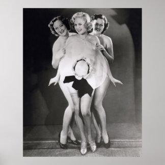 Chorus Girls Poster Print - 1706586.jpg