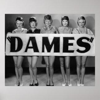 Chorus Girls Poster Print - Dames - 1706394.jpg