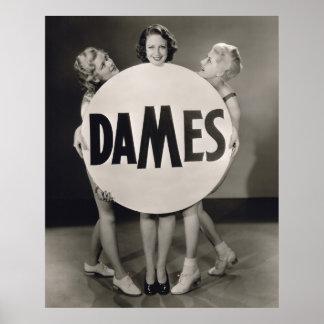 Chorus Girls Poster Print - Dames - 1706688.jpg