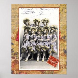 Chorus Girls Print