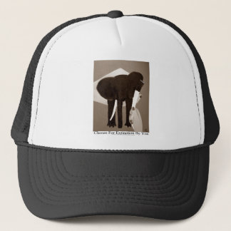 Chosen For Extinction By You, Elephant Poaching, Trucker Hat