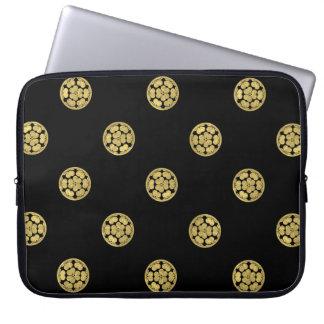 Chosokabe Mon Japanese samurai clan Laptop Sleeve